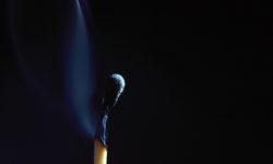 Burnout, Smoldering match stick